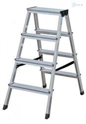 Alu fellépő 2x4 lépcsőfokos