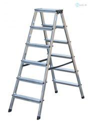 Alu fellépő 2x6 lépcsőfokos