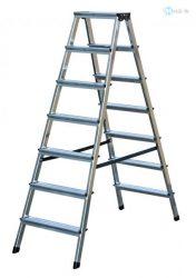 Alu fellépő 2x7 lépcsőfokos