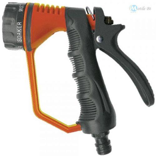 Öntöző pisztoly fém,6 funkciós kézvédővel