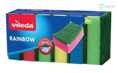 Vileda Rainbow mosogatószivacs 6x