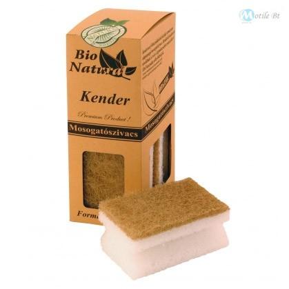 Bio Natural mosogatószivacs formázott Kender 4 db