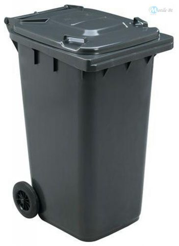 120 Literes kerekes hulladékgyűjtő szürke