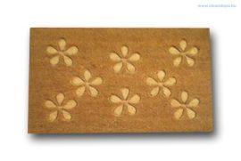 Lábtörlő kókusz virágmintás