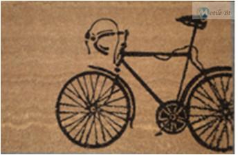 Lábtörlő kerékpáros