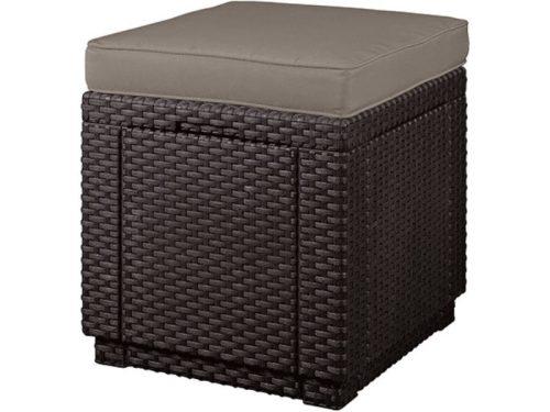 Kerti Bútor Cube ülőke párnával