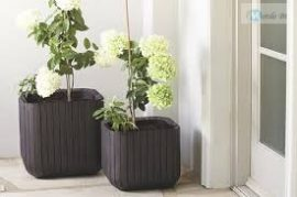 Virágtartó Cube Planter L