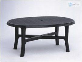 DANUBIO 165x110X72 cm-es asztal antracit