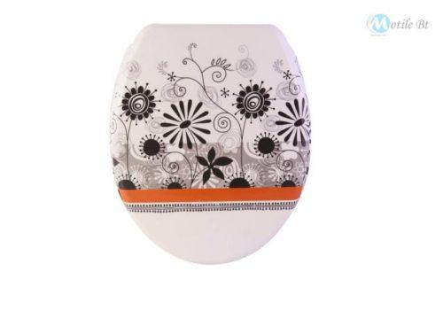 WC ülőke pitypang mintázatú