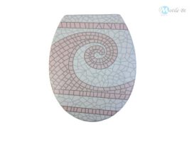 Wc ülőke mozaik mintázatú