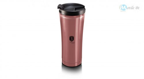 Berlinger Haus I-Rose Collection rozsdamentes acél kávés bögre, 500 ml, pink metál