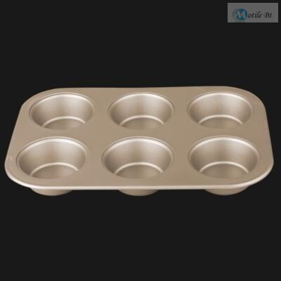 6 csészés muffin forma BH1429