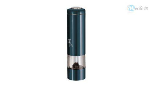 Berlinger Haus Metallic Aquamarine Line elektromos fűszermalom metál külső bevonattal, LED fénnyel, sötétkék  BH1977