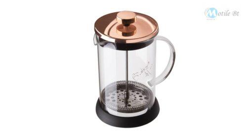 Berlinger Haus Metallic Rosegold Line dugattyús kávé- és teafőző, 350 ml  BH1493