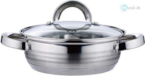 Blaumann Gourmet line 3,75 liter rozsdamentes indukciós szeletsütő fedővel 24 cm - BL-1003