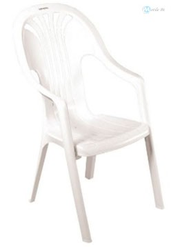 Chorus magastámlás szék fehér