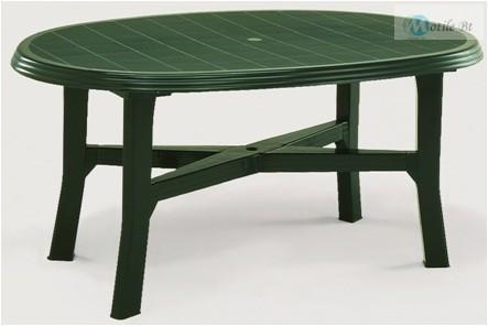 DANUBIO 165x110 cm-es asztal zöld