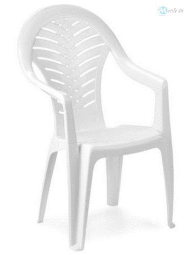OCEAN magas támlás szék  fehér