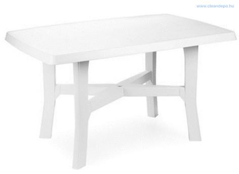 RODANO 138x88x72 cm asztal  fehér