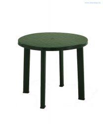 Kerek asztal zöld 90 cm-es