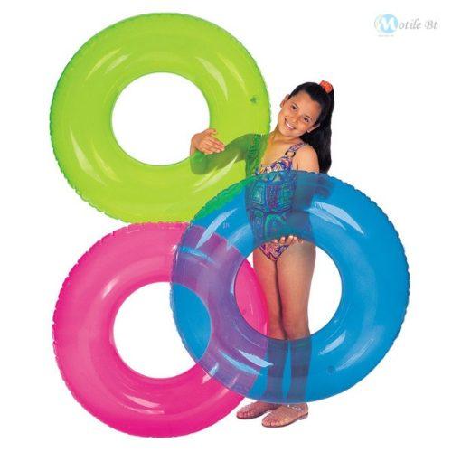 Transparent úszógumi 76 cm